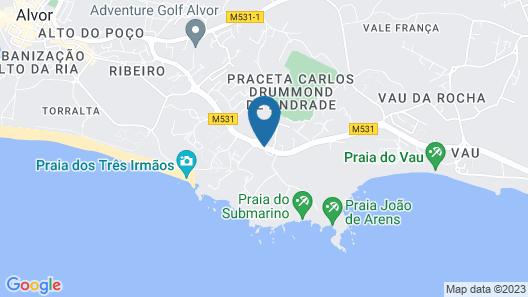 Prainha Clube Map