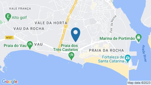 Flor da Rocha Map