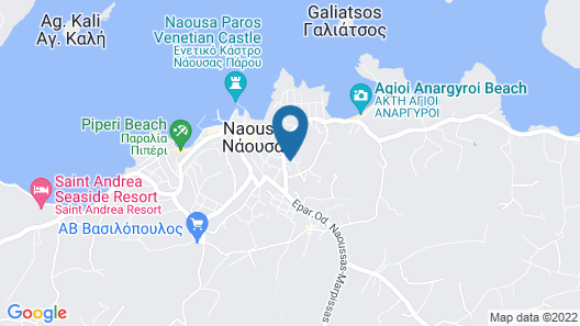 Zefi Hotel & Suites Map
