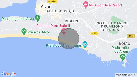 Maison Villa on the Sea Map