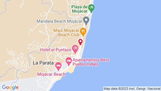 El Flamenco Map