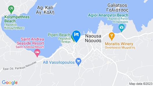 Senia Hotel Map