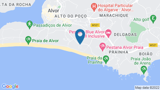 Pestana Dom João Villas Hotel Beach & Golf Resort Map