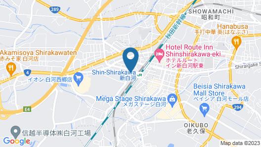 Toyoko Inn Shin-shirakawa Ekimae Map