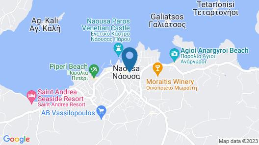 Minoa Hotel Map