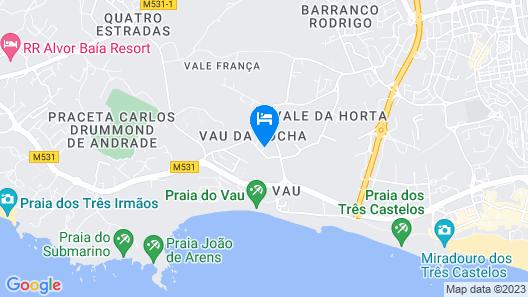 Clube Praia do Vau 17 by Atlantichotels Map