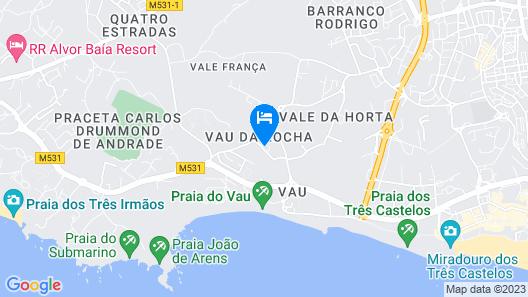 Interpass Solvau Apartaments  Map