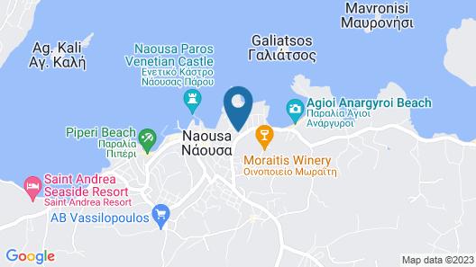 Svoronos Bungalows Map