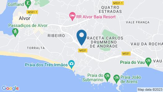 Pestana Blue Alvor All Inclusive Beach & Golf Resort Map