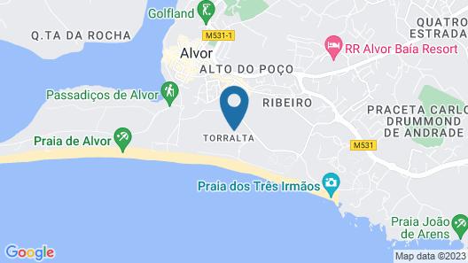 Luna Alvor Bay Map