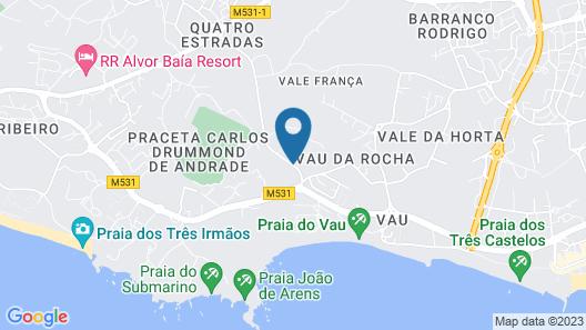 Turim Estrela do Vau Hotel Map