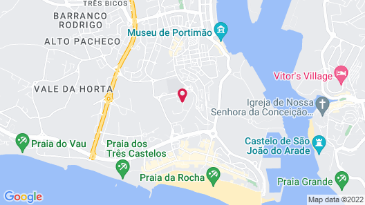 Apartamentos Clube Vilarosa Map