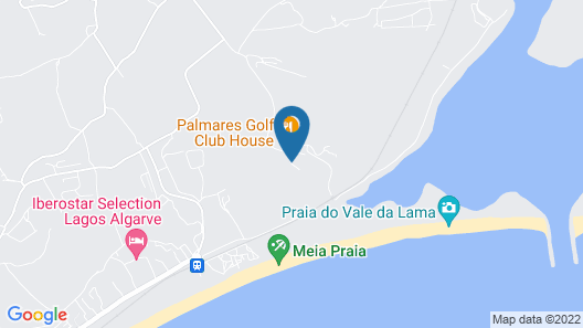 Palmares Beach House Hotel - Adults Only Map