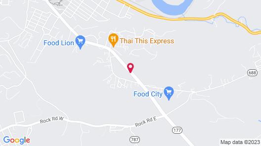Super 8 by Wyndham Radford VA Map