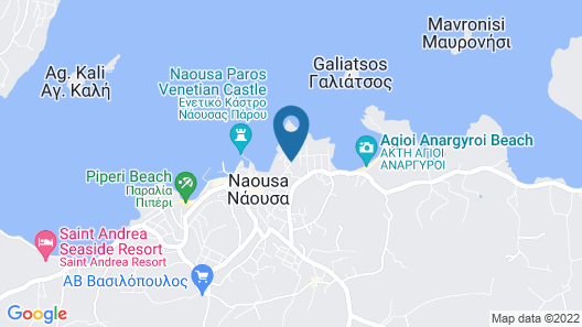 Fotilia Hotel Map