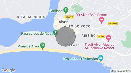 Dunas Do Alvor, 2 Bedroom,luxury Apartment, Sleeps 6 Free Wifi , Uktv Map