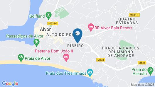 Pestana Alvor Park Map