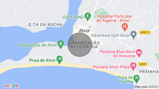 Two Bedroom Apartment at Clube Alvor Ria With Fabulous Harbour Views Map