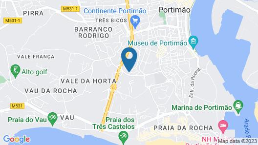 Hotel Apartamento Mirachoro II Map