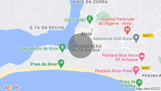 Clube Alvor Ria, Luxury 1 bed Apartment in Outstanding Central Location Map