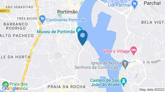 Jupiter Marina Hotel - Couples & SPA Map
