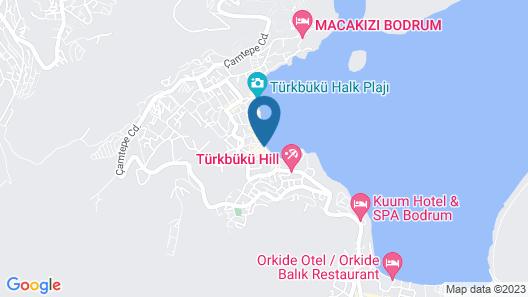 Eda Motel Map