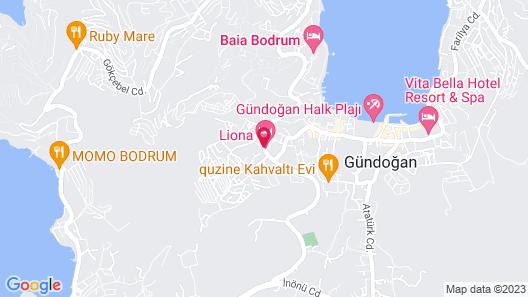 Liona Hotel Map