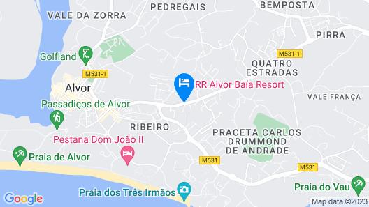 Alvor Baia Resort Hotel Map