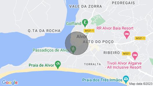 Casa Julieta Map
