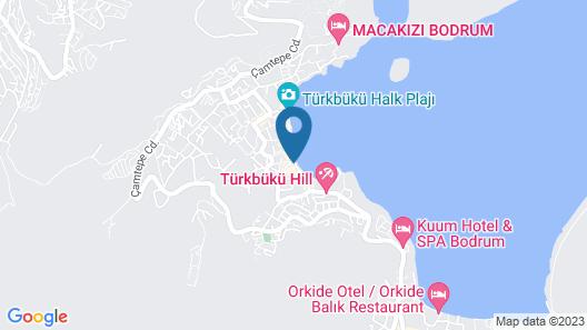 Elista Hotel & Spa Turkbuku Bodrum Map