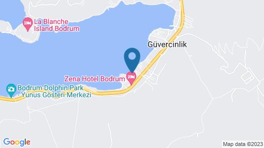 Marvel Beach Hotel Map