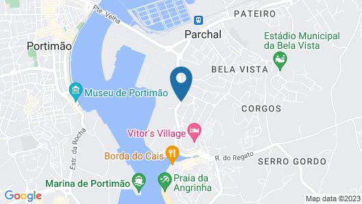 D10 - Ferragudo Townhouse by DreamAlgarve Map
