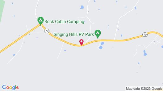 Yogi Bear's Jellystone Park Camp Resort Map