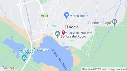 Casa Rural El Sombrero Map
