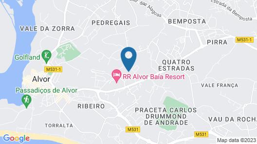 Hostel Amoreira Map