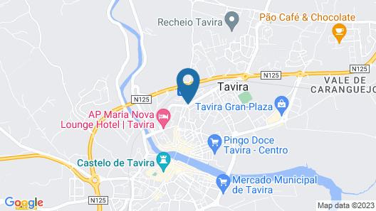 AP Maria Nova Lounge Map