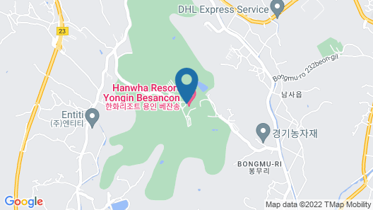 Hanwha Resorts Yongin Besancon Map