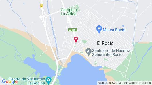 Hostal Puente del Rey Map