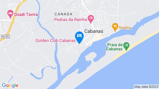 Golden Club Cabanas Map
