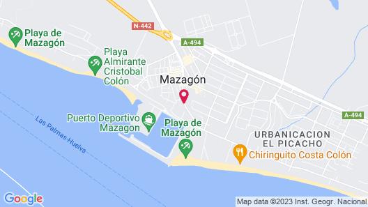 Hotel Apartamento Martín Alonso Pinzón Map