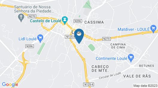 Eurosun Hotels – Loulé Map