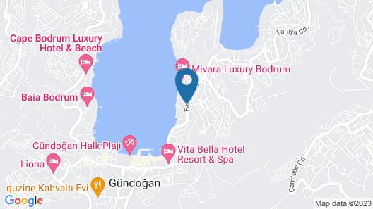 Mivara Luxury Resort & Spa Bodrum Map