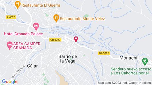 Hotel Boutique Alicia Carolina Map