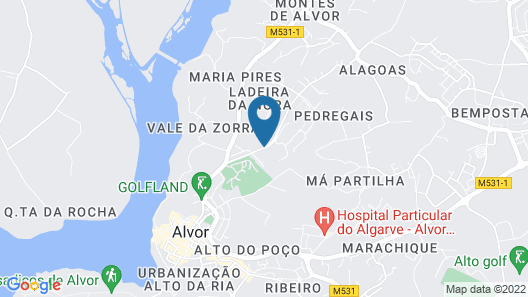 Luna Alvor Village Map
