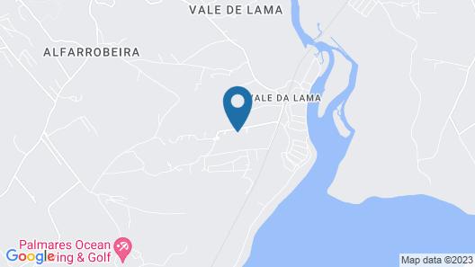 D08 - Bay View Villa in Vale da Lama Map