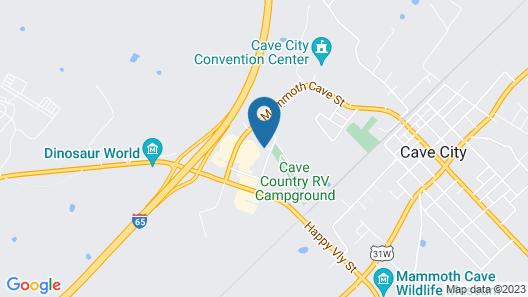 Hampton Inn Cave City, KY Map