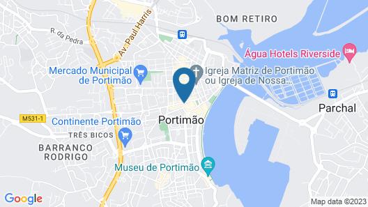 Aloha Hostel Map