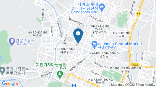Jecheon Tourist Hotel Map
