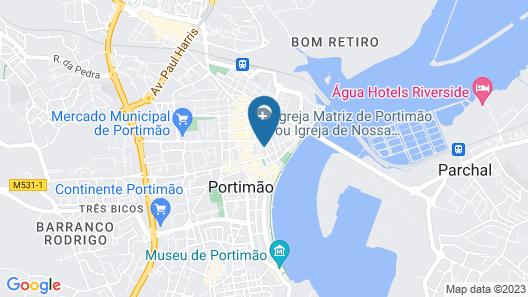 Globo Hotel Map