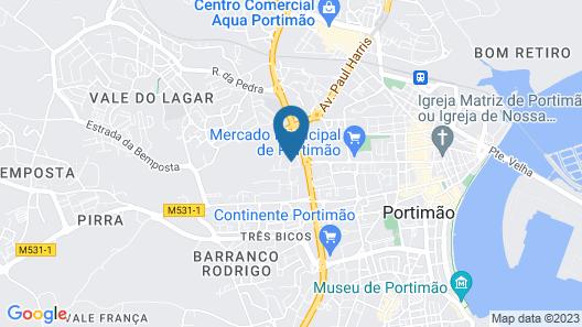 Hotel Mirachoro Sol Map